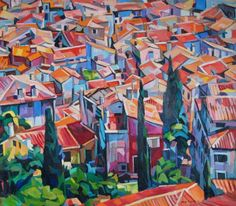 Red roofs II