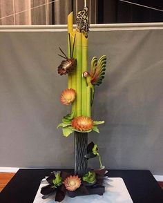 Chocolate showpiece by chef Ewald Notter