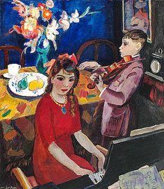 'Musical Children' - Jan Sluijters (1881-1957)
