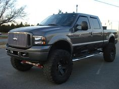 Lifted f250 diesel. PLEASE SANTA. I'll ask in January. Now, you have 11 months to get it for me...(;