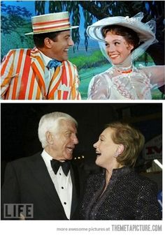 Mary Poppins before and after…