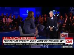 Bill Clinton Interview: Donald Trump, VP, defends Hillary Obama, Syria, ...
