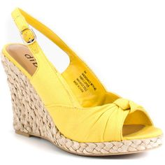 yellow shoes $60