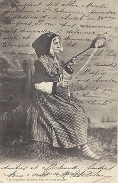 costume régionale auvergnate de Latour, Saint Esprit Auvergnat
