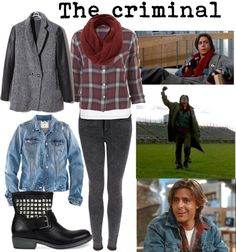 "I pretty much have this outfit without realising..  ""the breakfast club"" by fabiola-meza on Polyvore"