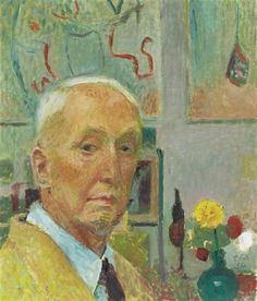 Self-portrait, Cuno Amiet (1868-1961) Cuno Amiet was a Swiss painter, illustrator, graphic artist and sculptor. Description from pinterest.com. I searched for this on bing.com/images