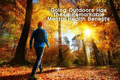 Did you know that going outdoors and spending just 15 minutes in the sun every day can have incredible benefits on a persons mood and mental health? Those of us seeking to improve our mental wellbeing know the importance of exercise in that process. Less well known are the benefits of going outdoors and spending | via @lifeadvancer - lifeadvancer.com
