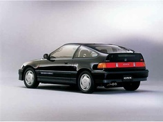 Honda CR-X (EF8)  これも製造中止になったとき、買っておくべきか散々悩んだ。フロントは平凡だが、このリアビューが好きだった