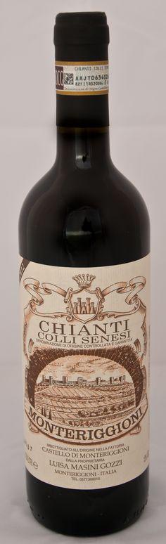 Chianti Colli Senesi - Bottle and label