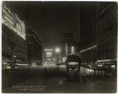 Times Square North : night illumination. (1921). NYPL Digital Gallery.