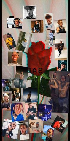 mah Lil skies collage made by me, only because I couldn't find one already made. Save this of ya want Rapper Wallpaper Iphone, Funny Phone Wallpaper, Trippy Wallpaper, Rap Wallpaper, Homescreen Wallpaper, Aesthetic Iphone Wallpaper, Wallpaper Backgrounds, Aesthetic Wallpapers, Good Looking Actors
