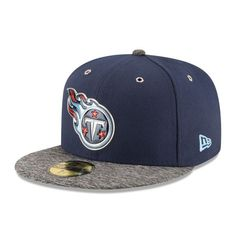 hot sale online b903b 3a319 Tennessee Titans New Era Youth On-Stage 59FIFTY Fitted Hat - Navy
