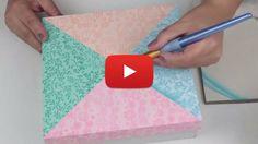 Veja como fazer lindas caixas em MDF decoradas de maneira surpreendente e simples.