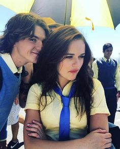 Joey King in The Kissing Booth Kissing Booth, Movie Couples, Cute Couples, Really Good Movies, My Ex Girlfriend, Joey King, Film Serie, Ex Girlfriends, Still Life Film