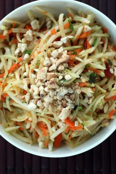 Did you do a double-take when you saw my Thai Noodle Salad with Mango and Lima Beans? It had some exotic ingredients: Kaffir lime leaves, galangal, shallots, tamarind, etc. I know, I thought this w...