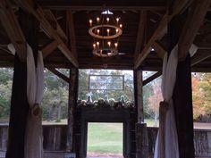Rustic barn wedding decor by OriginalGraceEvents.com