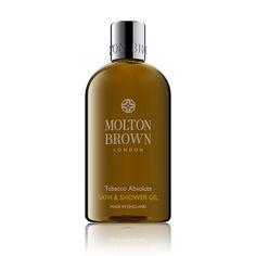 Molton Brown USA   Tobacco Absolute Bath & Shower Gel
