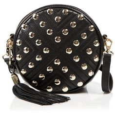 Rebecca Minkoff Crossbody - Bloomingdale's Exclusive Bianca Studded... ($235) ❤ liked on Polyvore