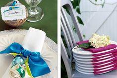Toques para arrumar a mesa para a ceia de natal.