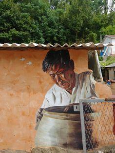 전남 강진 어촌마을 벽화