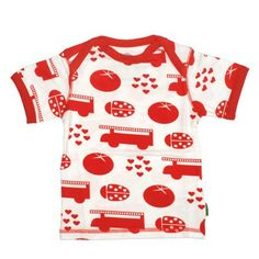 Plastisock Κοντομάνικο Μπλουζάκι Red Things - Sunnyside Shirt Blouses, T Shirt, Little Ones, Onesies, Ladybugs, Red, Baby, Clothes, Fashion