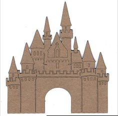 Template for front of castle