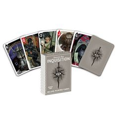 Dark Horse presents their second deck of playing cards featuring artwork from Dragon Age: Inquisition, the epic role-playing series from BioWare. The creative team behind the Dragon Age: Inquisition g