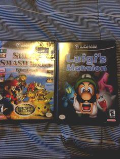 from $35 - Luigi's Mansion (#nintendo Gamecube) And Super Smash Bros Melee
