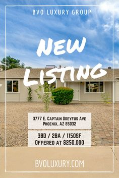 SOLD...3777 E. Captain Dreyfus Ave Phoenix AZ 85032 3BD / 2BA / 1150SF WOW! Totally remodeled and gorgeous! You will love love love this home! All new kitchen, bathrooms, laundry room, flooring, pain in and out, and a new roof! New landscape. OMG this home is beautiful!!! Close to parks, A+ schools, close to the 51, PV Mall, BASIS PHX, and many other great amenities.