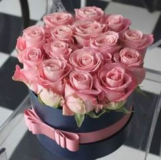 Pink Roses ~ boxed - [Living a Simple and Blessed Life]