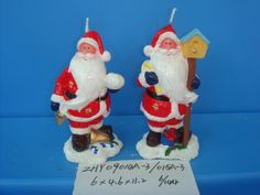 Christmas Candle/Holiday Candle/Santa Claus Candle from Quanzhou Ruihua Crafts Company of China. Enquiry email: sam@ruihuacrafts.com
