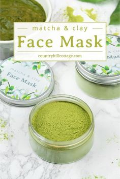 Matcha Green Tea Clay Mask for Glowing Skin, Uncategorized, Let your skin glow with a purifying DIY matcha green tea clay mask! This gentle, all-natural matcha clay mask helps to cleanse and detoxify the skin, . Clay Face Mask, Clay Masks, Face Masks, Neutrogena, Diy Masque, Beauty Care, Beauty Skin, Beauty Tips, Beauty Secrets