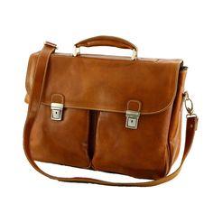 Cartella Professionale di Pelle - 4009 - Borse Vera Pelle Messenger Bag, Satchel, Semi, Firenze, Ebay, Products, Gadget, Backpack