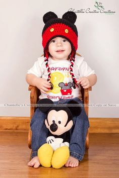 Mickey Mouse Birthday Shirt  Personalized by Littlemistysboutique, $28.00