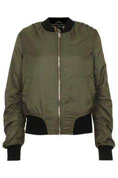 66098b5141b6 Black Quilted Panel Bomber Jacket