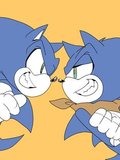 Sonic the Hedgehog In a way, they're brothers.