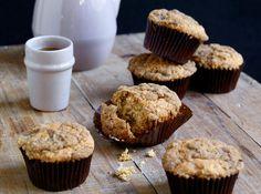 Server gjerne disse muffinsene som en del av søndagsfrokosten.       Oppskrift og foto er hentet fra Ida Gran-Jansens kokebok «Fristelser» (Gyldendal).
