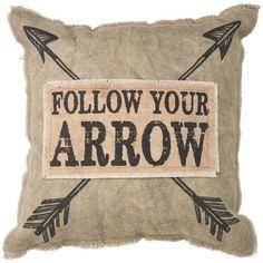 Primitives by Kathy Follow Your Arrow Pillow