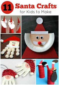 11 Santa Crafts for Kids