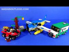 LEGO Police Mountain River Heist Lego Police, Armored Truck, Mountain, River, Rivers, Mountaineering