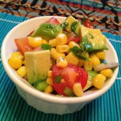 Corn Salad with Lime Vinaigrette - Allrecipes.com