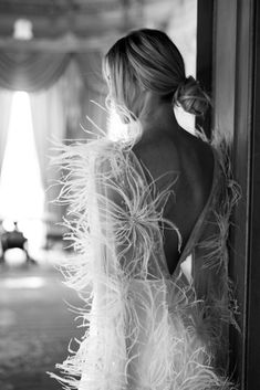 Something for the modern bride.the Reina jumpsuit is tailored perfectly. With a delicate hand beaded bodice and intricate feather beaded cape, Reina will make any woman feel both edgy and elegant. Bridal Dresses, Wedding Gowns, Sienna, Dream Wedding, Wedding Day, The Dress, Bridal Style, Wedding Bells, Wedding Styles