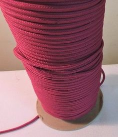 "5 Yards Beautiful Cording Magenta 1/8"" Trim  Sewing Decorations Arts Crafts #17"