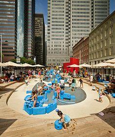 World's Coolest Playgrounds: Imagination Playground, New York City