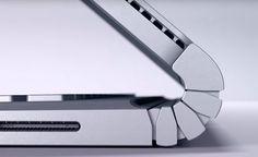 Microsoft unveils Surface Book laptop with Intel Skylake, discrete Nvidia GPU / Image: Surface-Book-Hinge