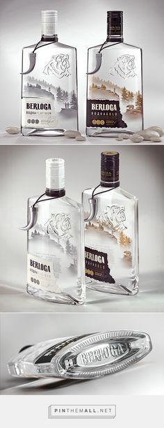 Vodka BERLOGA on Behance by STUDIOIN packaging ideas