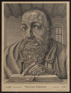 Menno Simons 1496 Witmarsum Oldeslo 1561
