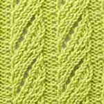 Eyelet Herringbone stitch
