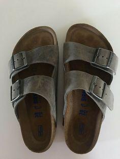10513c72bef Women's Birkenstocks size 38 (US w/o box Arizona Iron Oiled Leather
