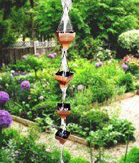 53 Best Rain Chain Ideas Images In 2020 Rain Garden Art